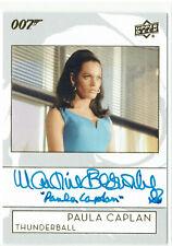 James Bond Collection Auto Inscription Version A-MB Martine Beswick Paula Caplan