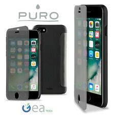 Custodia Sense Cover PURO Per Apple iPhone 8 PLUS Flip S View Ultra Slim Nera