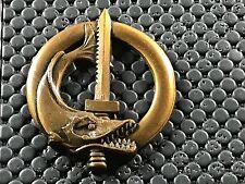BIG PINS PIN BADGE ARMEE MILITAIRE BREVET SUBAQUATIQUE ANCIEN DRAGO