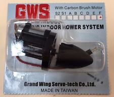 GWS Indoor RC Power System with IPS Carbon Brush Motor, 11.77:1