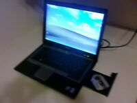 DELL LATITUDE D630 LAPTOP 2.2GHz 2GB RAM 80GB HDD Wi-Fi WIN XP/OFF 2007
