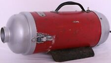 Royal Aire 250 Red Metal 110 Volt Vtg Handle Electric Canister Vacuum Cleaner