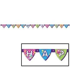 Shopkins 6 Foot Jointed Happy Birthday Banner1 Per Package Party Decorations New