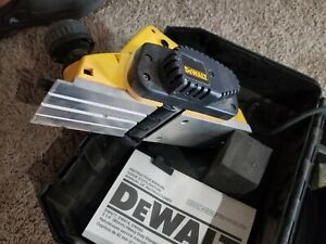 "DEWALT 3-1/4"" ELECTRIC WOOD PLANER W/ CASE TESTED CORDED DW677 TOOL"