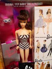35th Anniversary 1959 Barbie Reproduction #1 Brunette 1993 Mib