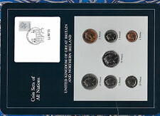 Coin Sets of All Nations Great Britain UNC 1£, 1, 2, 5, 10, 20, 50p 1986