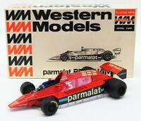 Western Models 1/24 Scale Model WF2 - Brabham BT48 F1 Racing Car Parmalat