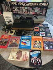 Atari 2600 CX-2600 Video Computer System Console W/ Controllers & Games Bundle