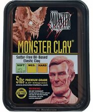 Monster Clay 5lb Medium by Monster Makers Sculpting Special FX Makeup Artists
