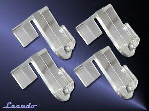 12x Fensterhaken Türhaken Tür Geschenk Dekoration Fenster Clips Weiß
