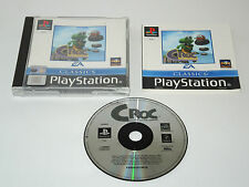 CROC LEGEND OF THE GOBBOS complete in box with manual PAL PS1 Sony Playstation 1