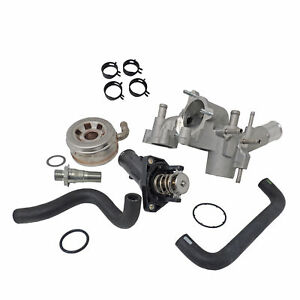 Toyota 1GRFE 4.0L Oil Cooler Kit 05-16 Tacoma 03-16 4Runner 07-14 FJ Cruiser