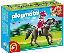 PLAYMOBIL 5112 PUR-SANG ARABE ET JOCKEY ( 1 cheval + 1 personnage ) Scellé NEUF