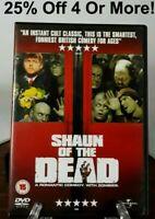Shaun of the Dead (DVD, 2004) *Region 2 PAL*