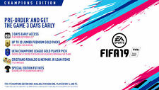 FIFA 19 Champions Edition Xbox One for Sep 25th Factory