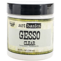 Finnabair Art Basics Gesso 8.5oz-Clear
