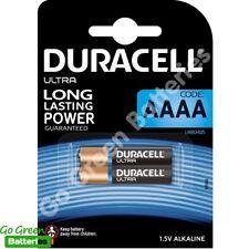 2 x Duracell AAAA 1.5V Ultra Alkaline Batteries MN2500 MX2500 E96 LR61 Jabra