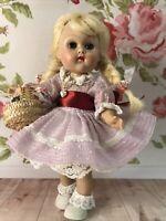 """Vintage Vogue SLW 8"""" Ginny Doll Tagged  Darling!!❤️❤️❤️"""