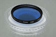 Vivitar 52mm Blue 80B Color Conversion Lens Filter Used