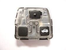 remplacement 3 boutons télécommandé Boîte pour Toyota Avensis Corolla Celica