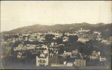 Barcelona Spain - Crisp Birdseye View Montana Tibidabo Real Photo Postcard