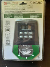 Utilitech Photocell Timer Outdoor 3 Outlet Digital #0149289