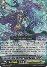 CARDFIGHT VANGUARD CARD: DARK WOLF THAT HUNTS DEITIES, FENRIR - G-BT11/014EN RR