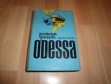 ODESSA DE FREDERICK FORSYTH LIBRO PRIMERA EDICION DEL AÑO 1973 EN BUEN ESTADO