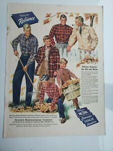 Lot 12 Vintage Mens Clothes Dickies Blue Bell Carhartt Lee Farah JP STEVENS Ads