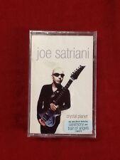"NEW SEALED ""Joe Satriani"" Crystal Planet Cassette Tape (G)"