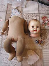 Bébé poupée Raynal à restaurer et à remonter