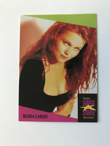 1 Belinda Carlisle trading card