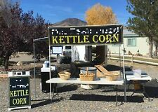Well-Kept Turnkey 2006 8' x 12' Popcorn Concession Stand / Kettle Corn Business
