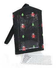 LADYBUG LUGGAGE TAGS set of 4! LADYBUGS Gifts! GREAT STOCKING STUFFERS!