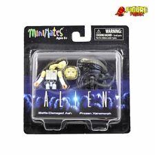 Aliens Minimates Series 3 Battle Damaged Ash Variant & Frozen Xenomorph