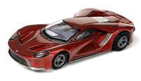 JUST RELEASED!! Tomy AFX Clear Mega G+ Liquid Red Ford GT HO Slot Car #22030