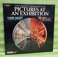 Pictures At An Exhibition Ashkenazy Mussorgsky Ravel Mehta Vinyl Record CS 6559
