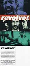 REVOLVER THE MOVIE UNUSED ADVERTISING COLOUR POSTCARD (a)