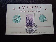FRANCE - carte 1954 (joigny) (B3)
