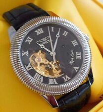 Rare Vintage INVICTA 9943 Objet Mechanical Skeleton Watch and Box