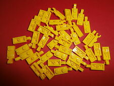 Lego Mixels/City 40 Small Plate 63868 in Yellow 1x2 with Vertical Clip New