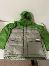 Burton Down Men's Snowboard Jacket Zip Off Sleeves Large