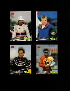 """1995 Classic Racing """"Stand Out Drivers"""" (10) card Insert Set! Earnhardt! Gordon!"""