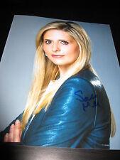 Sarah Michelle Gellar Unterzeichnet Autogramm 8x10 Foto Buffy in Person COA Auto