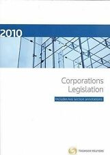 Corporations Legislation 2009 by Law Book Co of Australasia (Paperback, 2009)