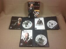 PlayStation 2 Hitman Trilogy Blood Money Silent Assassin Contracts Original PS2