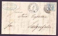 Thurn & Taxis Bremen 1866 - Brief mit EF 2Sgr. MiNr. 39 - Michel 180,00 € (787)