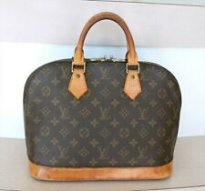 AUTHENTIC LOUIS VUITTON ALMA Monogram Handbag No.1169