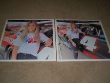 """(2) NEW 2020 #4 Hailie Deegan """"CRAFTSMAN"""" ARCA Menards Racing Series Photos"""
