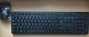 Dell Wireless Keyboard and Mouse Combo Set Km636 Desktop Black